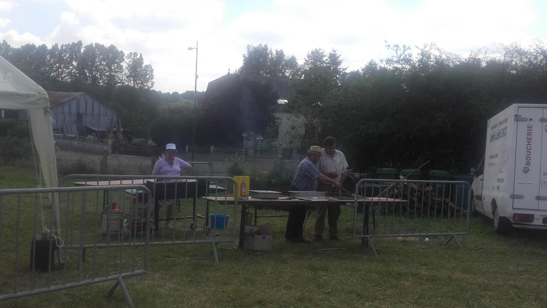 Vide grenier et fête de la braise le 27 juillet