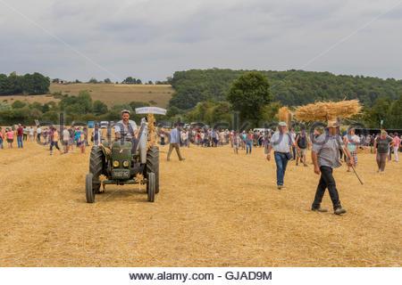 Fete de la moisson valennes sarthe france agricultural festival in gjad9m